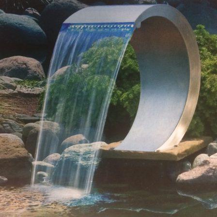 geels vijvertje - trends waterval